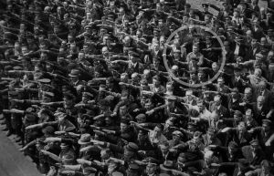 August Landmesser refusant de faire le
