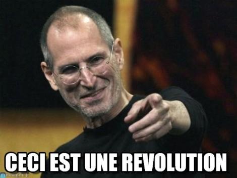 ceci est une révolution