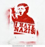 stock-photo-berlin-august-anti-fascist-graffiti-on-a-building-wall-i-hate-nazis-august-in-118385749 anti fasciste nazi