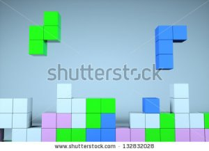 stock-photo-construction-of-the-cube-on-a-blue-background-132832028 tetris