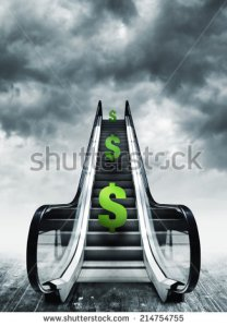 stock-photo-dollar-symbol-on-escalators-currency-concept-inflation-and-deflation-finance-and-exchange-rate-214754755 inflation
