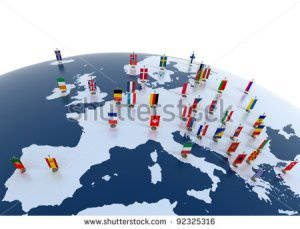 stock-photo-european-countries-d-illustration-european-continent-marked-with-flags-92325316