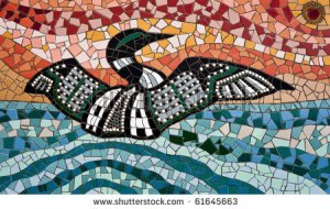 stock-photo-mosaic-made-from-tiles-showing-a-common-loon-gavia-immer-spreading-its-wings-61645663 huard