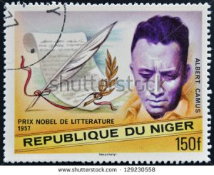 stock-photo-niger-circa-a-stamp-printed-in-niger-shows-nobel-prize-in-literature-albert-camus-circa-129230558