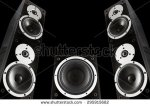 stock-photo-pair-of-black-music-speakers-and-subwoofer-isolated-on-black-background-295915682 speaker