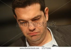 stock-photo-thessaloniki-greece-february-alexis-tsipras-on-the-conference-of-syriza-in-the-towns-city-171775361 grece tsipras