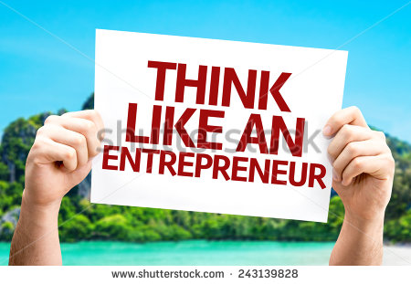 stock-photo-think-like-an-entrepreneur-card-with-a-beach-on-background-243139828