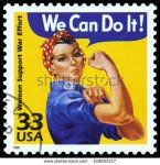 stock-photo-united-states-circa-canceled-usa-postage-stamp-showing-an-image-of-rosie-the-riveter-158602217