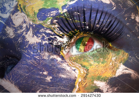 stock-photo-womans-face-with-planet-earth-texture-and-congo-flag-inside-the-eye-elements-of-this-image-291427430