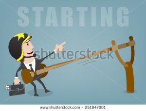 stock-vector-business-man-start-up-success-vector-illustration-251847001