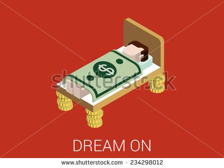 stock-vector-flat-d-isometric-abstract-sweet-richness-prosperity-millionaire-money-dreams-web-concept-vector-234298012 gosse de riche