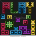 stock-vector-game-stock-box-with-five-color-136455926 play tetris