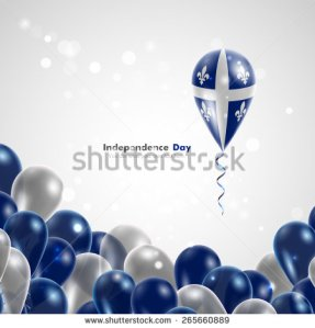 stock-vector-quebec-flag-on-balloon-celebration-and-gifts-ribbon-in-the-colors-of-the-flag-are-twisted-under-265660889 quebec