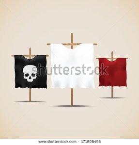 stock-vector-set-of-ancient-flags-vector-illustration-171605495 drapeau blanc