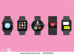 stock-vector-smart-watches-292899521 fitbit