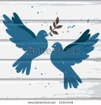 stock-vector-two-vector-blue-doves-on-white-wood-background-postcard-for-international-peace-day-213141448 colombe paix
