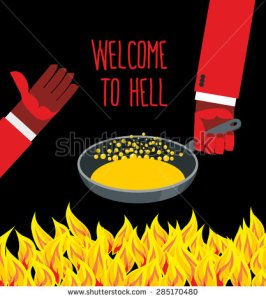 stock-vector-welcome-to-hell-heated-frying-pan-with-boiling-oil-hands-of-devils-inviting-gesture-flame-of-285170480 welcome to hell