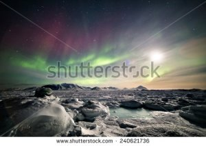 stock-photo-arctic-magical-landscape-with-northern-lights-240621736 artique