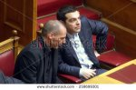 stock-photo-athens-greece-february-prime-minister-alexis-tsipras-r-talks-with-finance-minister-259699301 grece tsipras