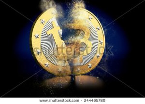 stock-photo-broken-bitcoin-244465780