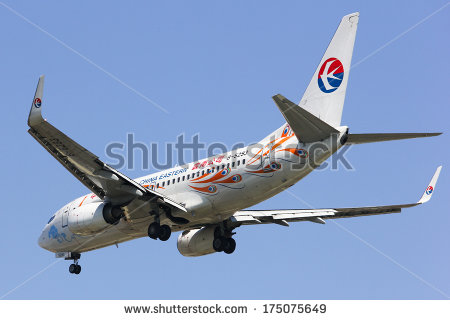 stock-photo-chiangmai-thailand-february-b-boeing-of-china-eastern-airline-landing-to-175075649