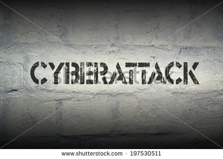 stock-photo-cyberattack-stencil-print-on-the-grunge-brick-wall-with-gradient-effect-197530511