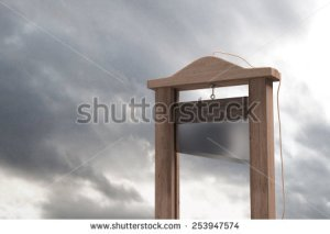 stock-photo--d-rendering-of-a-guillotine-a-dead-instrument-253947574