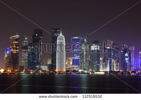 stock-photo-doha-skyline-at-night-qatar-middle-east-112519532