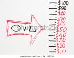 stock-photo-drawn-red-arrow-with-word-oil-pointing-on-price-figures-in-dollars-on-white-board-241353358