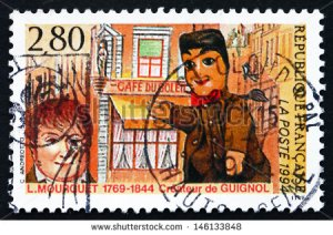 stock-photo-france-circa-a-stamp-printed-in-the-france-shows-laurent-mourguet-creator-of-puppet-146133848 guignol