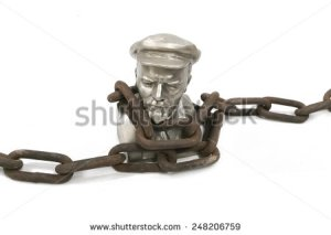 stock-photo-isolated-bust-of-lenin-in-a-chains-248206759