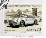 stock-photo-jersey-circa-stamp-printed-in-jersey-dedicated-to-classic-cars-shows-aston-martin-db-141118636