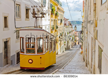 stock-photo-lisbon-s-gloria-funicular-classified-as-a-national-monument-opened-located-on-the-west-side-of-86309014 portugal