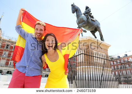 stock-photo-madrid-people-showing-spain-flag-on-plaza-mayor-cheerful-and-happy-in-spain-cheering-celebrating-246073159 espagne
