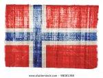 stock-photo-norway-flag-on-original-papyrus-background-98081396