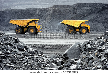 stock-photo-production-useful-minerals-the-dump-truck-102315979