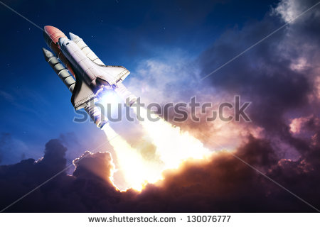 stock-photo-space-shuttle-taking-off-on-a-mission-130076777