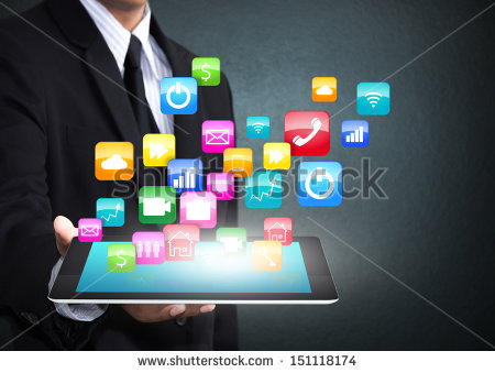 stock-photo-touch-screen-tablet-with-cloud-of-colorful-application-icons-151118174