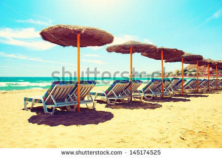 stock-photo-vacation-concept-spain-beach-on-costa-del-sol-mediterranean-sea-145174525 espagne