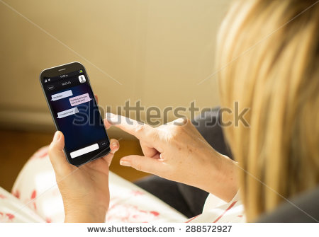 stock-photo-wireless-communications-and-social-concept-woman-with-a-d-generated-smartphone-with-instant-288572927