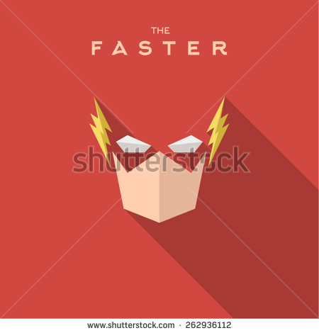 stock-vector-faster-superhero-mask-into-flat-style-262936112