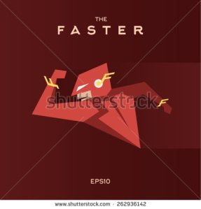 stock-vector-faster-superhero-rushes-to-the-aid-on-flat-style-262936142 faster