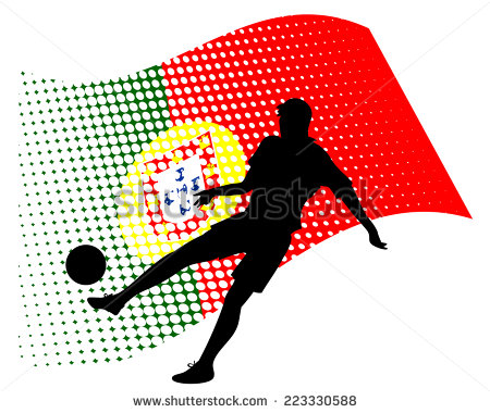 stock-vector-vector-illustration-of-portugal-soccer-player-silhouette-against-national-flag-isolated-on-white-223330588