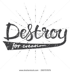 stock-vector-vector-illustration-with-hand-drawn-words-destroy-for-creation-poster-or-postcard-calligraphic-295757879