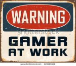 stock-vector-vintage-metal-sign-warning-gamer-at-work-vector-eps-grunge-effects-can-be-easily-removed-for-220899688