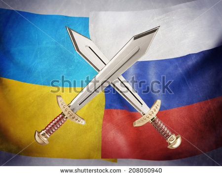 stock-photo-conceptual-illustration-of-the-conflict-between-russia-and-ukraine-with-the-image-of-two-swords-208050940