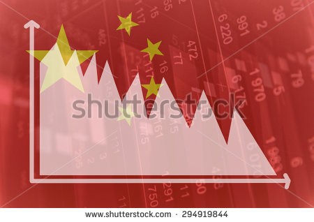 stock-photo-flag-of-china-downtrend-stock-diagram-294919844