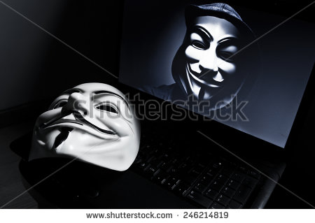 stock-photo-paris-france-january-vendetta-mask-on-computeur-with-an-anonymous-member-on-screen-246214819 ananymous hacker pirate