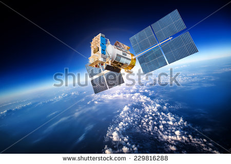 stock-photo-space-satellite-orbiting-the-earth-elements-of-this-image-furnished-by-nasa-229816288