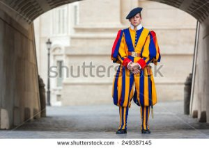 stock-photo-vatican-city-italy-december-a-member-of-the-pontifical-swiss-guard-vatican-249387145